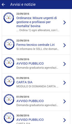Il Comune Informa 2.0 - Elenco Avvisi e notizie
