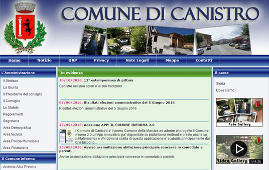 Comune di Canistro (AQ)