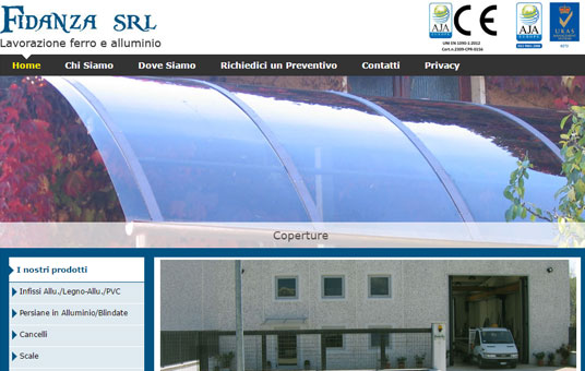 Fidanza S.r.l. - Lavorazione ferro e alluminio