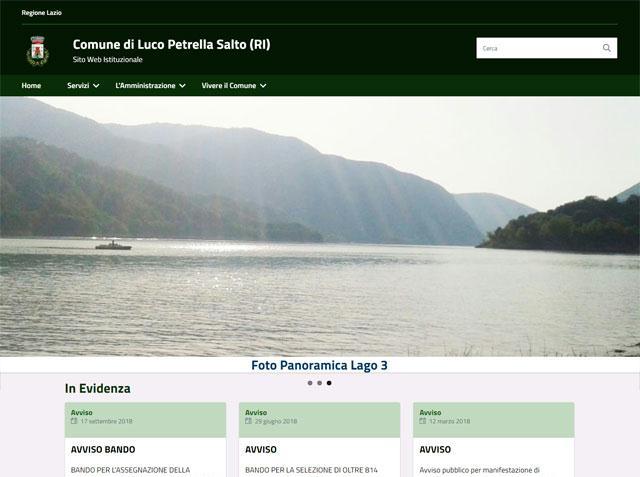 E' online il nuovo sito del Comune di Petrella Salto (RI)
