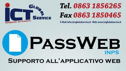 Supporto PASSWEB (INPS)
