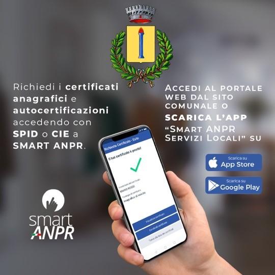 Civita D'Antino (AQ):attivato nuovo servizio Smart ANPR: certificati anagrafici da app e portale web